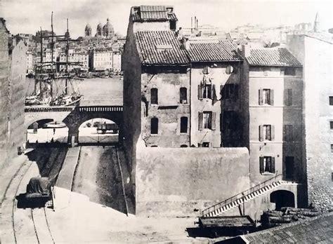 chemin de fer du vieux port de marseille provence