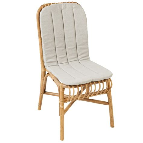 siege en rotin coussin pour chaise valérie chaise rotin kok