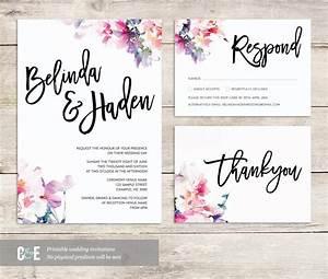 watercolor wedding invite multicolor wedding invitations With watercolor wedding invitations photoshop