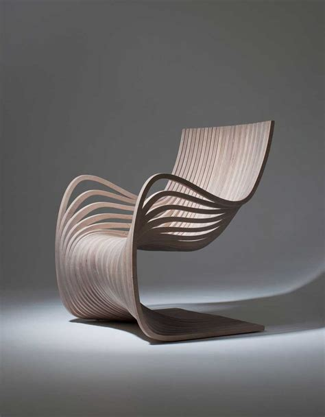 chaises pliantes design beautiful and wooden chair made from curved