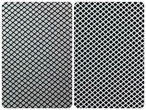 Black Polyester or White Nylon Stretch Fishnet Fabric - 54 ...