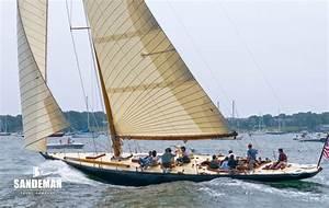 Sparkman Stephens 12 Metre Sloop 1938 Sandeman Yacht