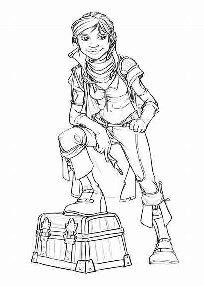 Halfling Rogue Female Characters Character Thief Fantasy