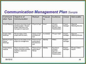 project communication plan template business With project management communications plan template
