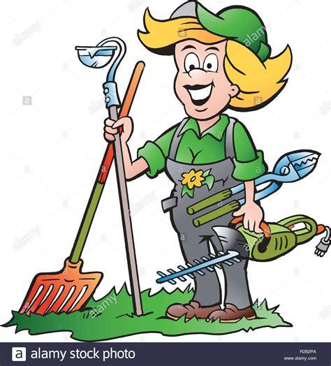 attrezzi da giardiniere vector illustrazione di un pratico giardiniere