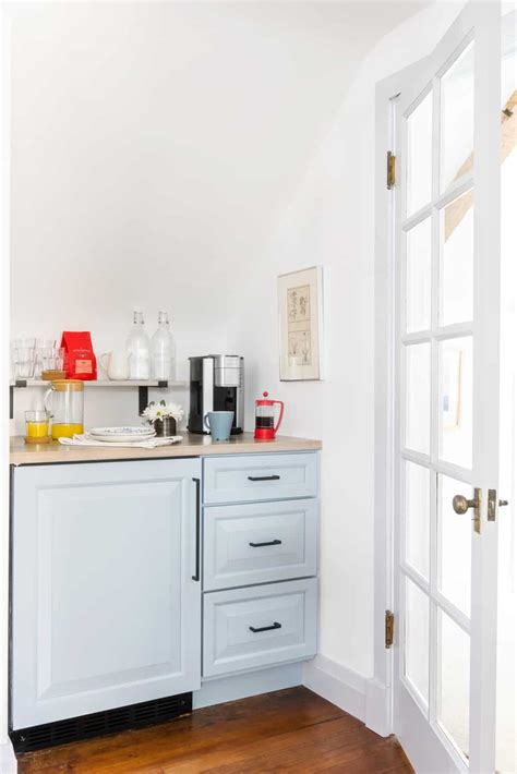 Did you scroll all this way to get facts about mini fridge bar? Attic Bedroom Design Ideas: Full Reveal of a Chicago Attic Makeover