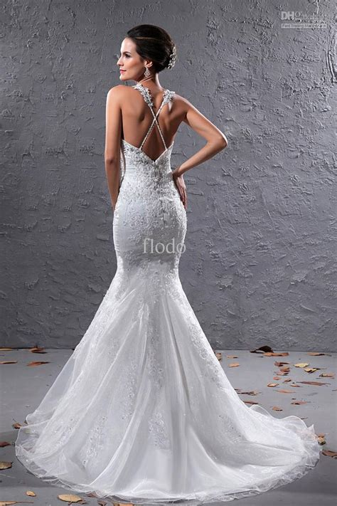 wholesale sheath wedding dresses buy  mermaid