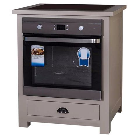 meuble bas cuisine pour plaque cuisson meuble four et plaque de cuisson en pin massif