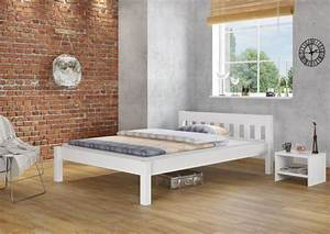 Weißes Metallbett 140x200 : bett wei holz 140 200 ~ Lateststills.com Haus und Dekorationen