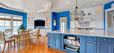 blue kitchen decorating ideas design trend blue kitchen cabinets 30 ideas to get you