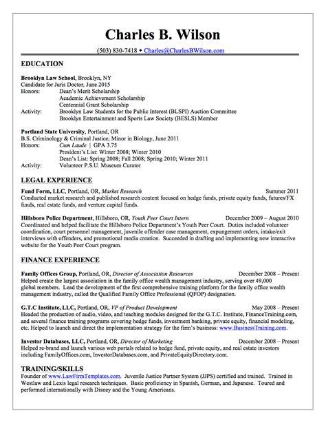 coaching resume example charles b wilson charles wilson financial law resume