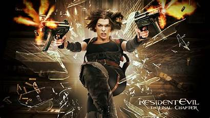 Resident Evil Chapter Final Wallpapers Movies