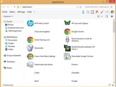 afficher outlook sur le bureau comment afficher le dossier applications sur le bureau de windows 8