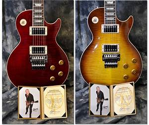 Gibson Hand-signed Alex Lifeson Les Paul Axcess