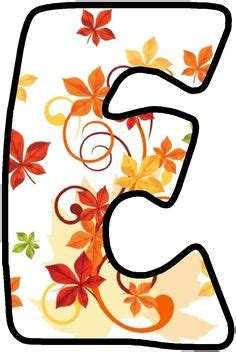 fall leaves letters images lettering
