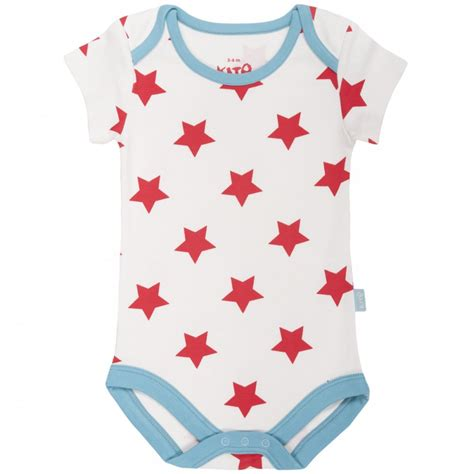 Baby Boy Vest Kite Baby Starprint Bodysuit Vest