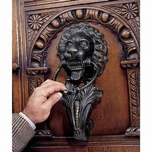 Large, Lion, Door, Knocker