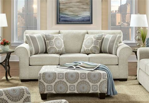 Affordable Loveseat by Sofa Affordable Affordable Furniture 5950 Silverton Pewter