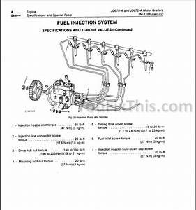 John Deere 670a 672a Repair Manual  Motor Grader   U00ab Youfixthis