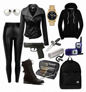 The 25+ best ideas about Spy Outfit on Pinterest | Gun holster Natasha romanoff and Black widow ...