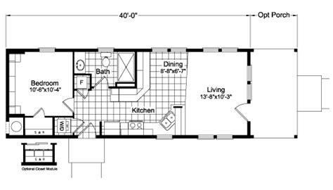 20 X 40 Home Design : The Paradise 4h40s94 Floor Plan