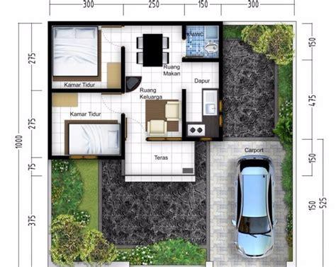 kreasi gambar denah rumah minimalis sederhana  modern