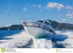 Motor Yacht Boat Stock Photo Image Of Life Independence