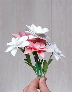 Fleur De Papier : fleurs en papier la t te dans les id es ~ Farleysfitness.com Idées de Décoration