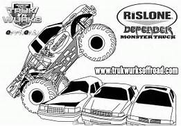 monster jam monster truck colouring pages page 3