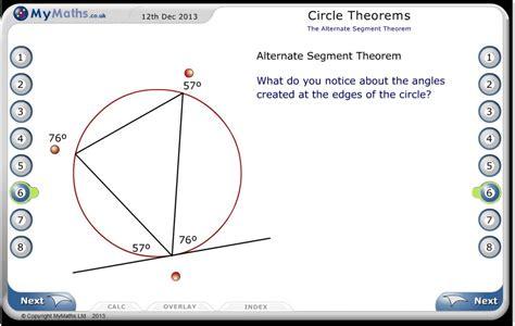 maths worksheets circle theorems circle theorems ks4