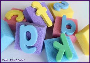 diy letter stamps make take teach With large foam letter stamps