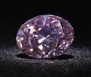 Martian Pink Diamond, the second largest round brilliant ...