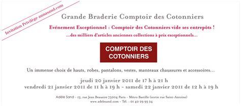 Comptoir Des Cotonniers Bastille by Vente Priv 233 E Comptoir Des Cotonniers 20 21 22 Janvier