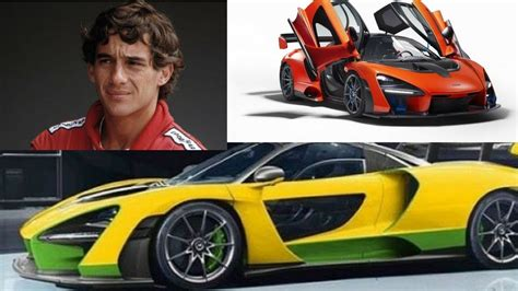 Ayrton Senna‬ Vs Mclaren Senna  F1 Youtube