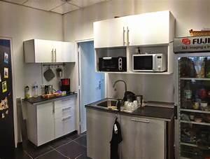 Desserte Micro Onde Ikea : cuisine ikea dans des bureaux ~ Nature-et-papiers.com Idées de Décoration