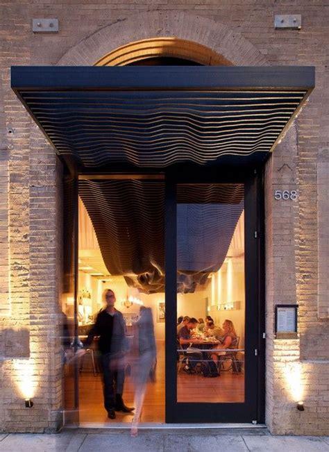 aidlin darlings ribbed canopy entrance design canopy design restaurant entrance