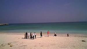 Fins Beach - Oman (raw video) - YouTube
