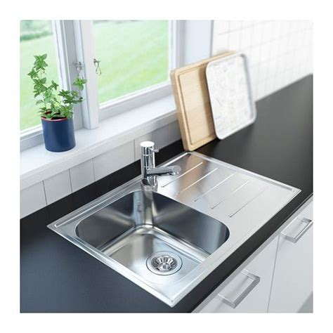 small kitchen sinks ikea boholmen 1 bowl inset sink with drainer ikea 25 year 5504