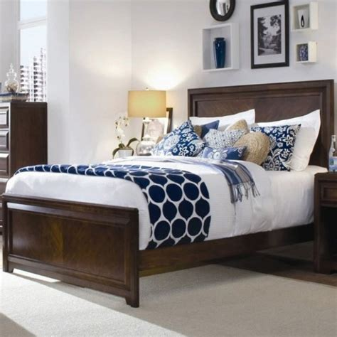 lovely navy blue and white bedroom 16 concerning remodel