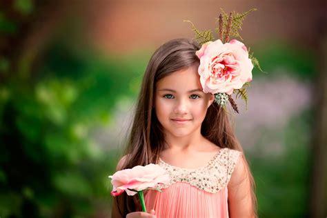 flower girl child photography smile flower beautiful eyes hd wallpaper