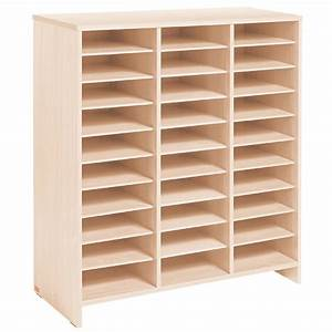 Meuble De Rangement Case : meuble haut 30 cases bouleau mobinathan meubles cases ~ Teatrodelosmanantiales.com Idées de Décoration