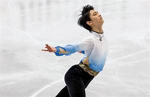 Japan's Yuzuru takes 12-point lead in Boston   Golden Skate