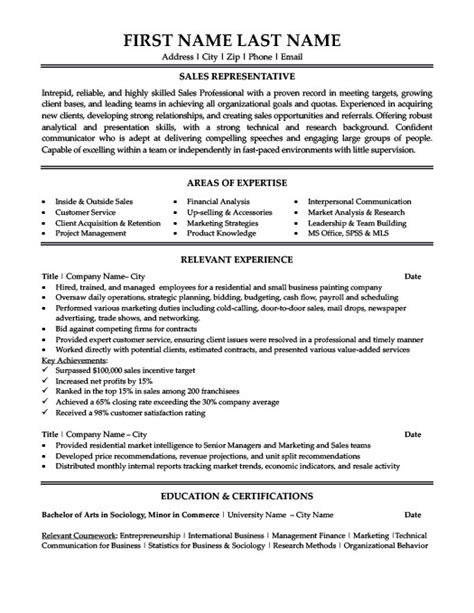 Resume Templates 101 by Branch Sales Manager Resume Template Premium Resume