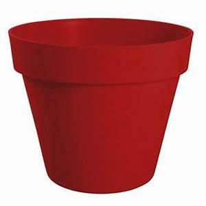 Grand Pot De Fleur Plastique : pot de fleur bois fibre plastique leroy merlin ~ Premium-room.com Idées de Décoration