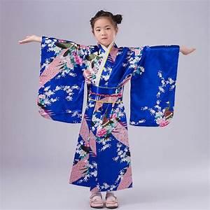 Fashion, Blue, Japanese, Baby, Girl, Kimono, Tradition, Kid, Yukata, Kid, Girl, Stage, Performance, Dress