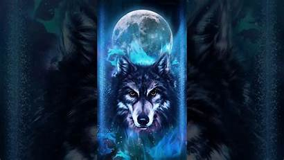 Neon Wolf Samsung Theme Wallpapers Backgrounds Wallpaperaccess