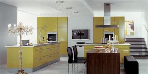 deco cuisine cuisine jaune design photo 10 10 une cuisine jaune design