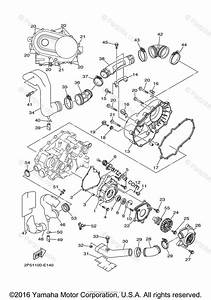 Yamaha Side By Side 2006 Oem Parts Diagram For Crankcase