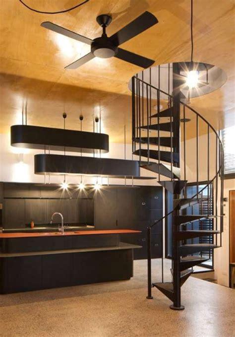 green small house  staircase design homemydesign
