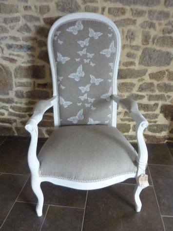 tissus pour fauteuils anciens papillons on